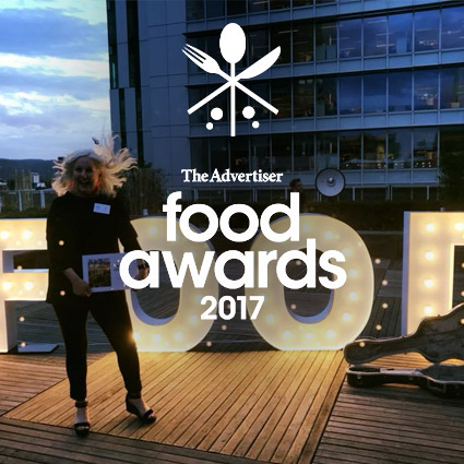 The Advertiser  2017 Food Awards and My Kingdom for a Horse was awarded 'Best Cafe'. We'd like to thank our incredible team and we appreciate all of our wonderful customers.