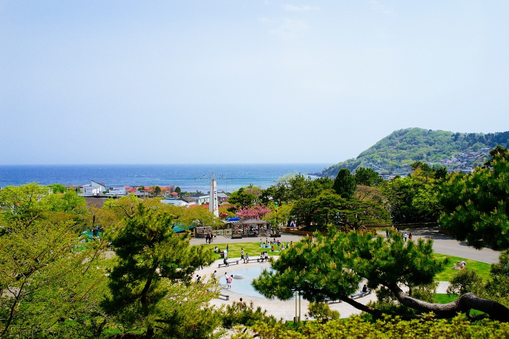 A hot day at Hakodate Park.