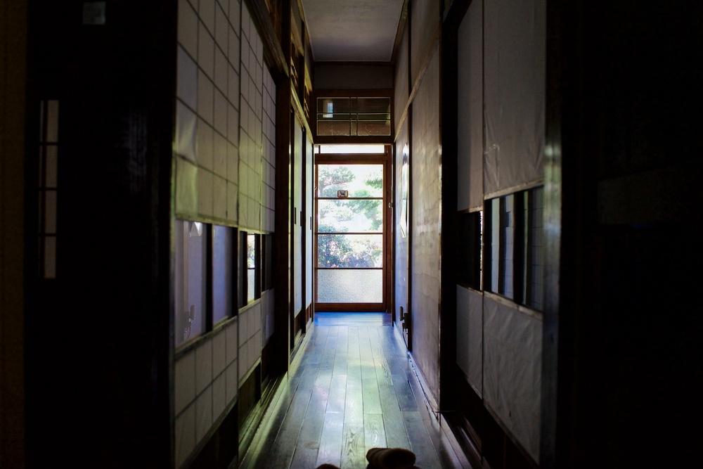 Hallway inside Guest House Kura.