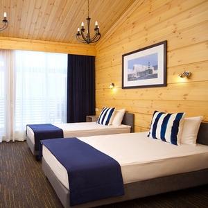 Семейный коттедж с 2 спальными комнатами