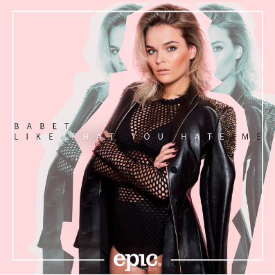 Babet - Like That You Hate Me    'Like That You Hate Me' is the first single by former 'The Voice' contestant Babbete Van Vugt. This dance able track is a fresh debut from an artist we will definitely keep an eye on.