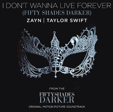 ZAYN & Taylor Swift - I Don't Wanna Live Forever Pop music powerhouses ZAYN and Taylor Swift team up on the tune 'I Don't Wanna Live Forever'. It has already hit the charts, for good reasons!
