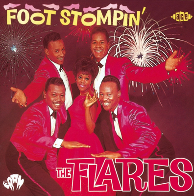 The Flares - Foot Stomping (Part 1)   The Flares were an American doo-wop group from Los Angeles. Their notable members were Richard Berry (writer of ' Louie Louie ') and Cornell Gunter (known for the ' The Coasters '). 'Foot Stomping (Part 1)' laid the groundworks for what was yet to come.