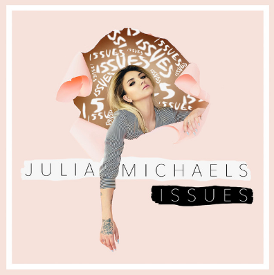 Julia Michaels - Issues Julia Michaels is an American singer-songwriter. She was the hitmaker behind some of 2016's pop hits of John legend and Gwen Stefani. Now she is ready for her own musical journey!