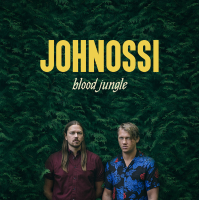 """Johnossi - On A Roll                    Johnossi is a rock duo from Stockholm, Sweden. Consisting of singer/songwriter, guitarist John Engelbert and drummer, percussionist and singer Oskar """"Ossi"""" Bonde. On A Roll was released on their fifth album Blood Jungle."""