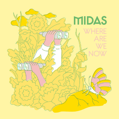 Midas - Where Are We Now King Midasis popularly remembered in Greek mythology for his ability to turn everything he touched into gold. The Amsterdam based powerpop singer Midas just released his single 'Where Are We Now' which will give you a golden feeling.
