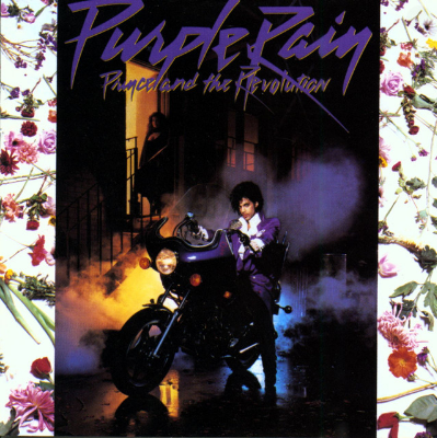 """Prince - Purple Rain                    One of his most recognizable songs 'Purple Rain' is the title track from the 1984 album with the same name. As Prince said: """"When there's blood in the sky - red and blue = purple - 'Purple Rain' pertains to the end of the world and being with one you love and letting your faith guide you through 'Purple Rain.'"""""""