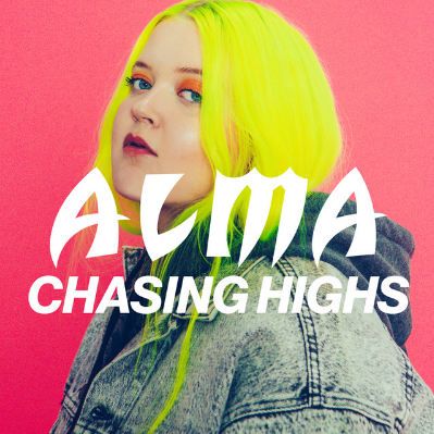 ALMA - Chasing Highs ALMA is a Finnish singer/songwriter. She first gained popularity in 2013, at the age 17, when she finished fifth in Finnish Idols. 'Chasing High' is the first new single from ALMA since her debut EP Dye My Hair.