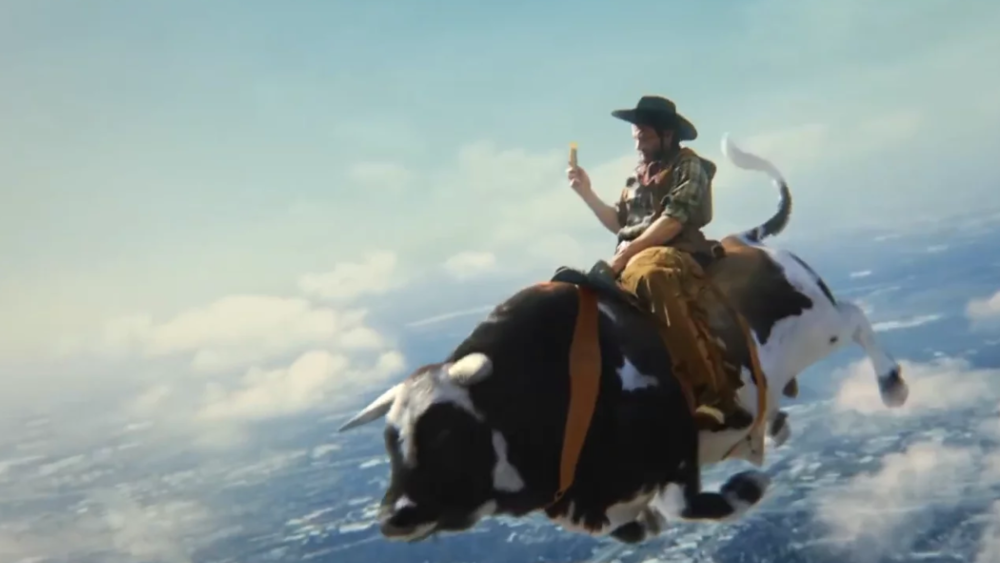 BUTTERFINGER'Bull Ride' -