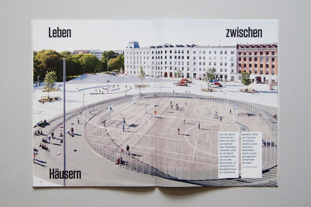 Inka Schnettler Gestaltung für das Greenpeace Magazin