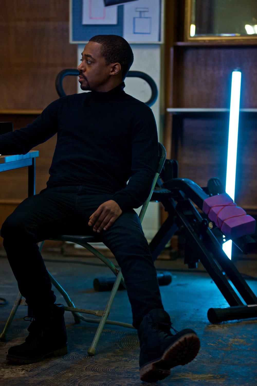 Theodore Black aka Blackman played by Jordan Maxwell
