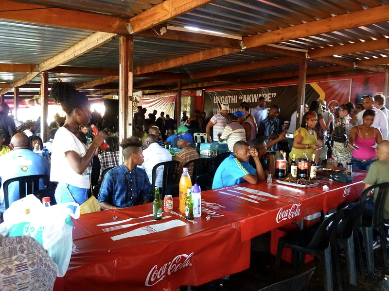 14. Barbeque at the famous Mzoli's in Gugulethu
