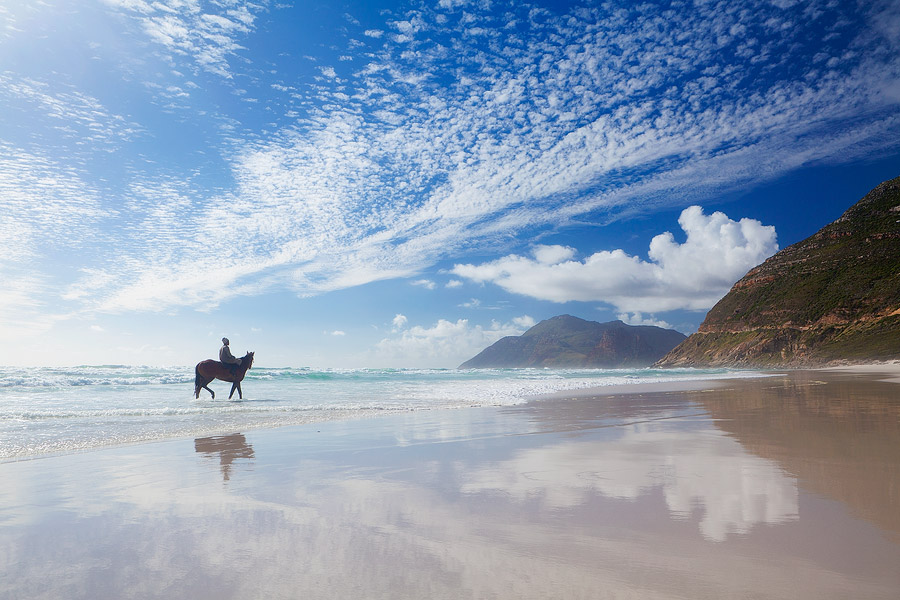 12. Ride horses on Noordhoek Beach
