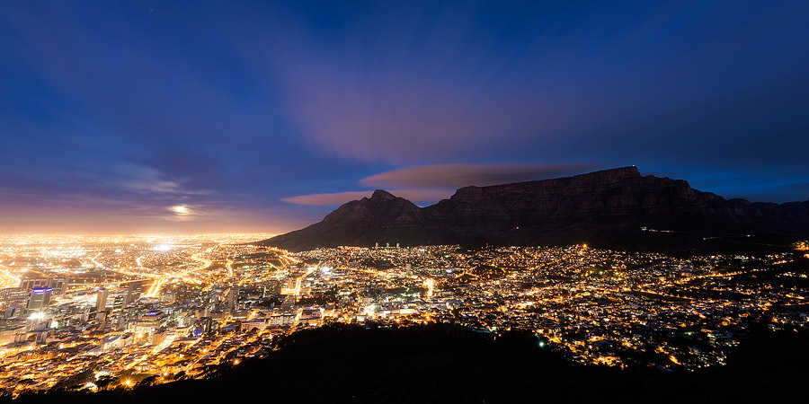 7. See the city by night from Signal Hill