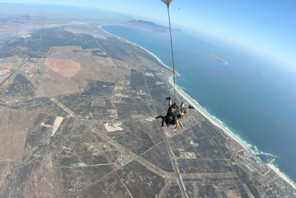 10. Sky dive in Blouberg