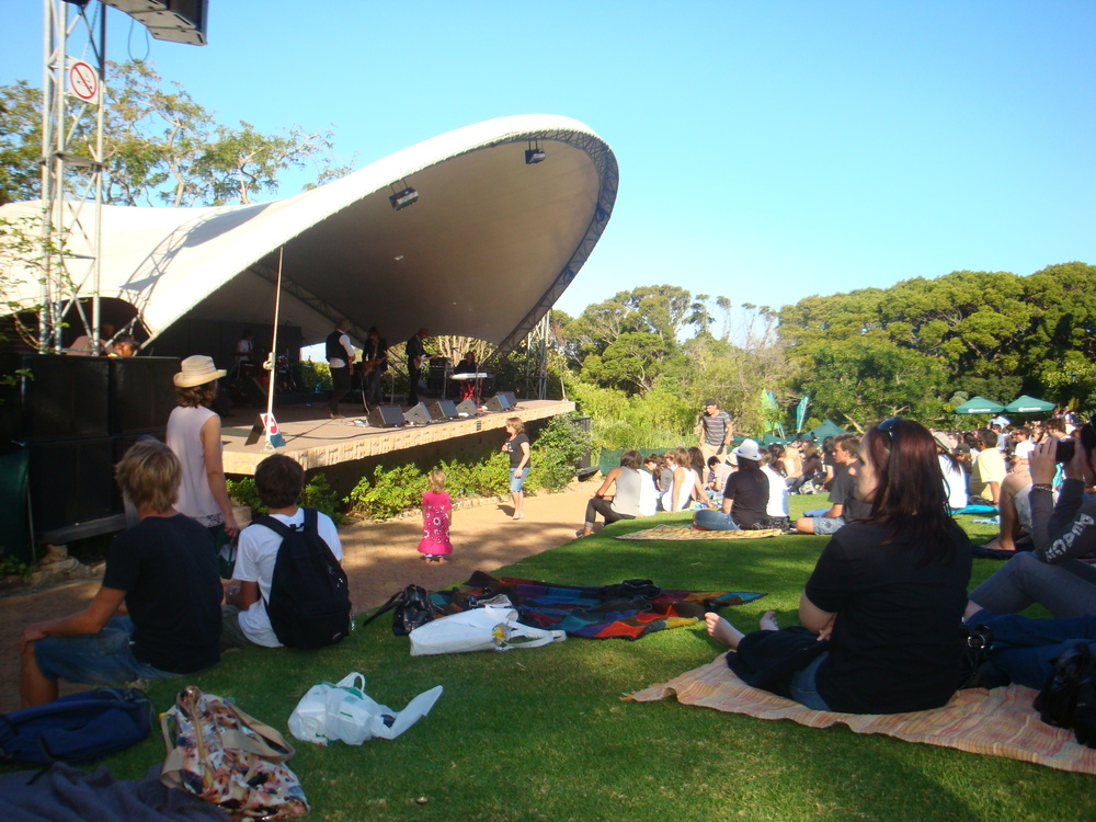 Sundays feature great local bands and musicians at Kirstenbosch
