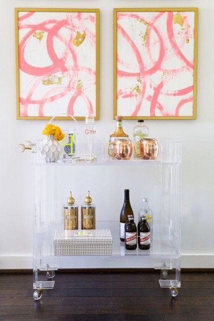 acrylic bar table