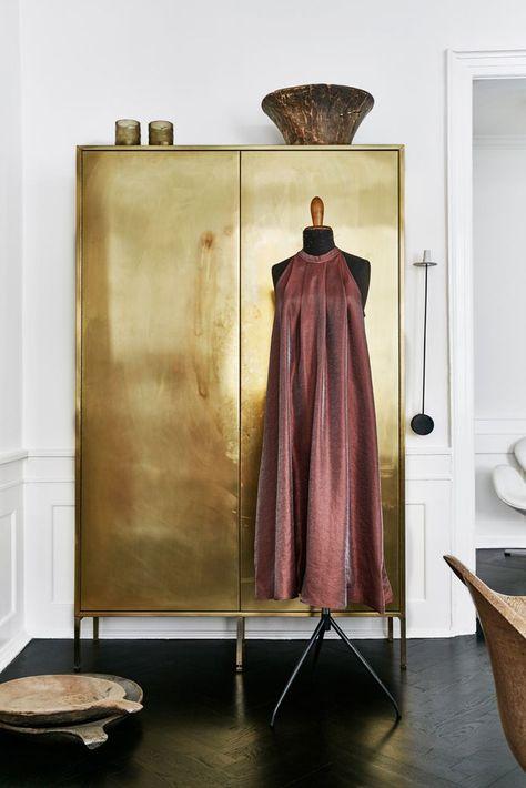 gold wardrobe