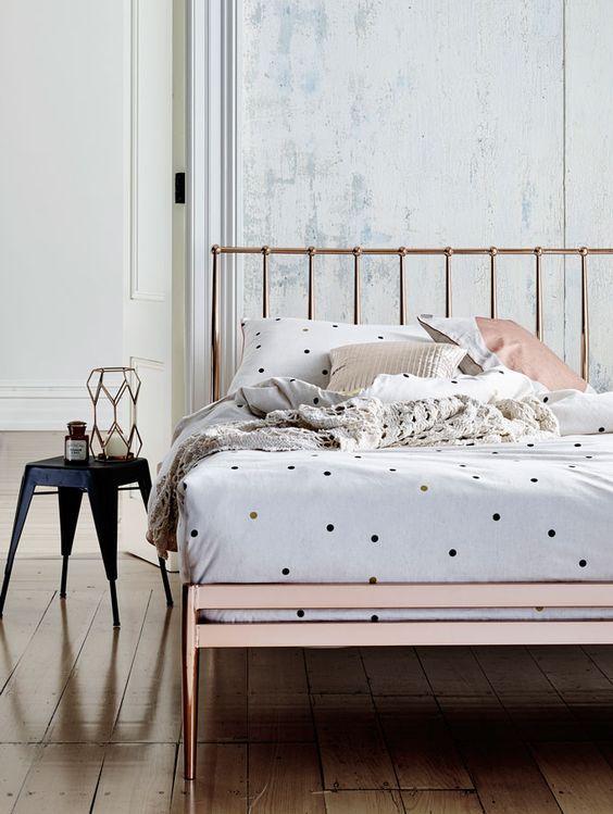 copper bed base