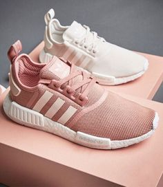 Adidas have released the latest pair of NMD shoes in pale pink