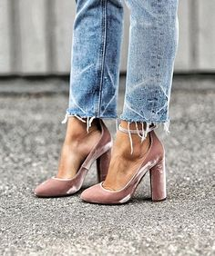 Suede shoes -   need we say more