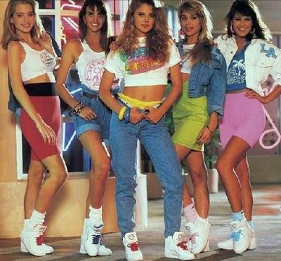 clothing from eighties