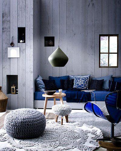 sapphire blue room