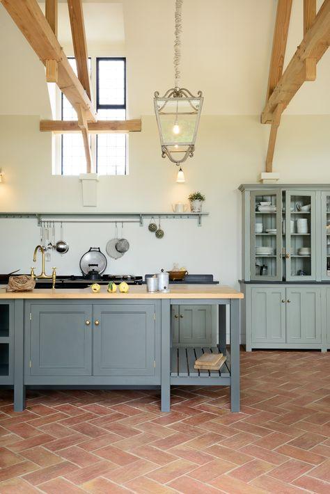 terracotta tile kitchen