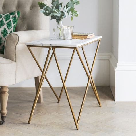 gold table interior