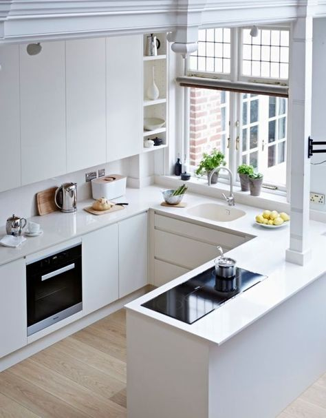 clean, modern kitchen