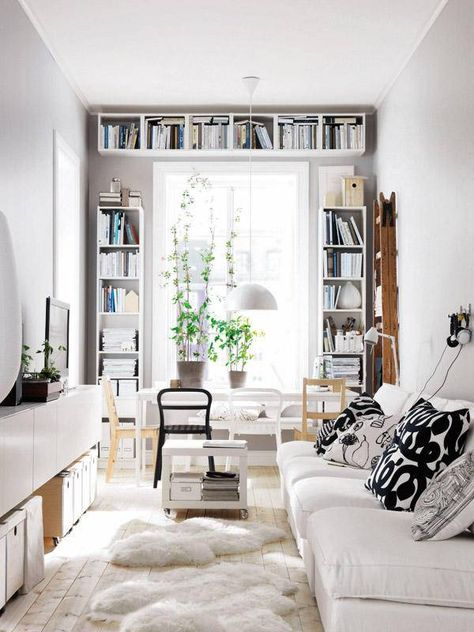 Small apartment white
