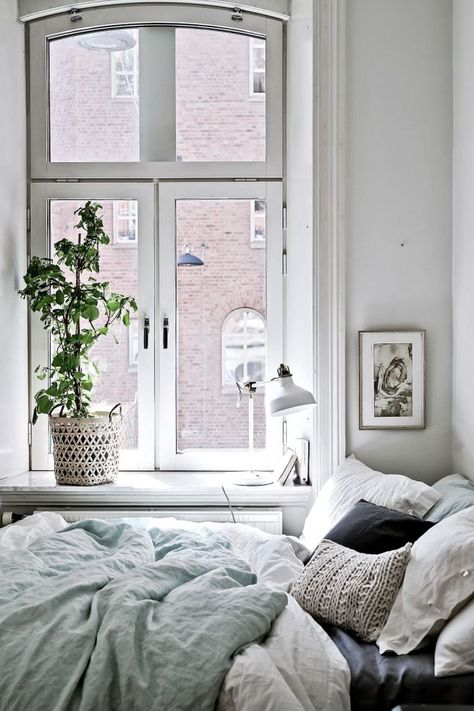 small white window bedroom