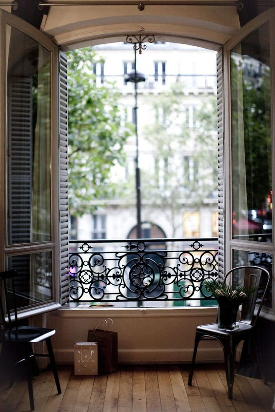 paris balcony window
