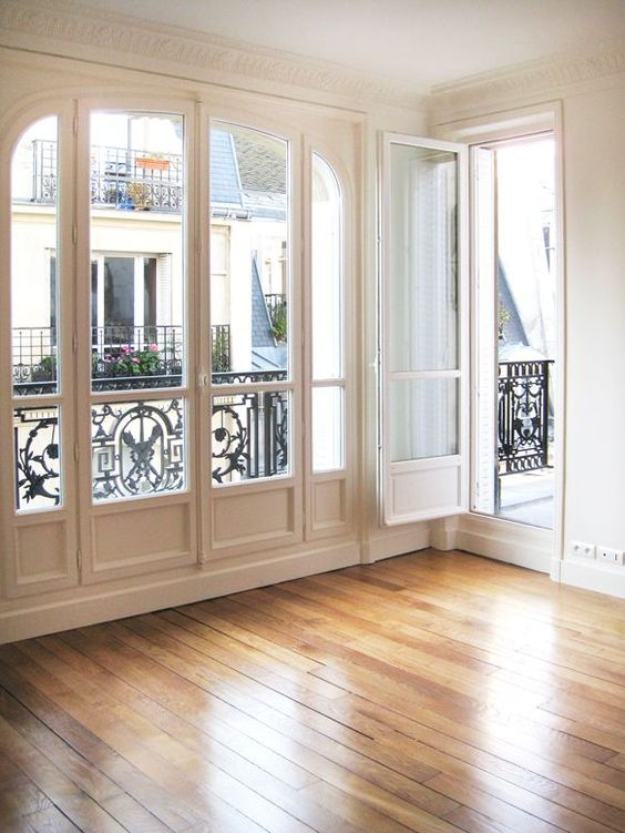 french door and panel window