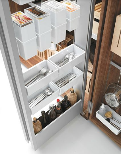 kitchen drawer with storage