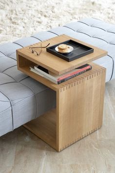 Functional Side Tables With Storage