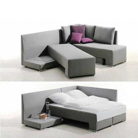 Couch That Adjusts Into A Guest Bed