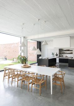 concret kitchen