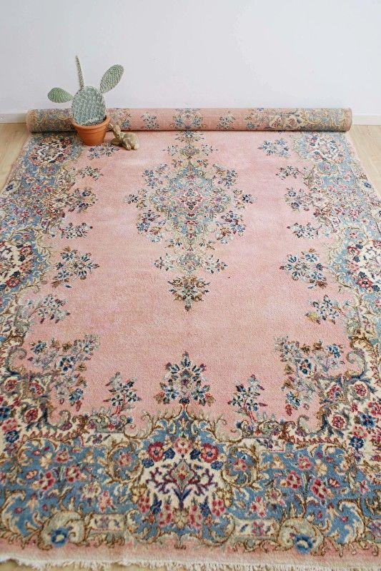 pastel pink carpet