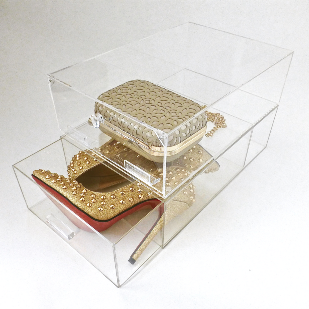 Acrylic Storage Box For Shoes And Accessories