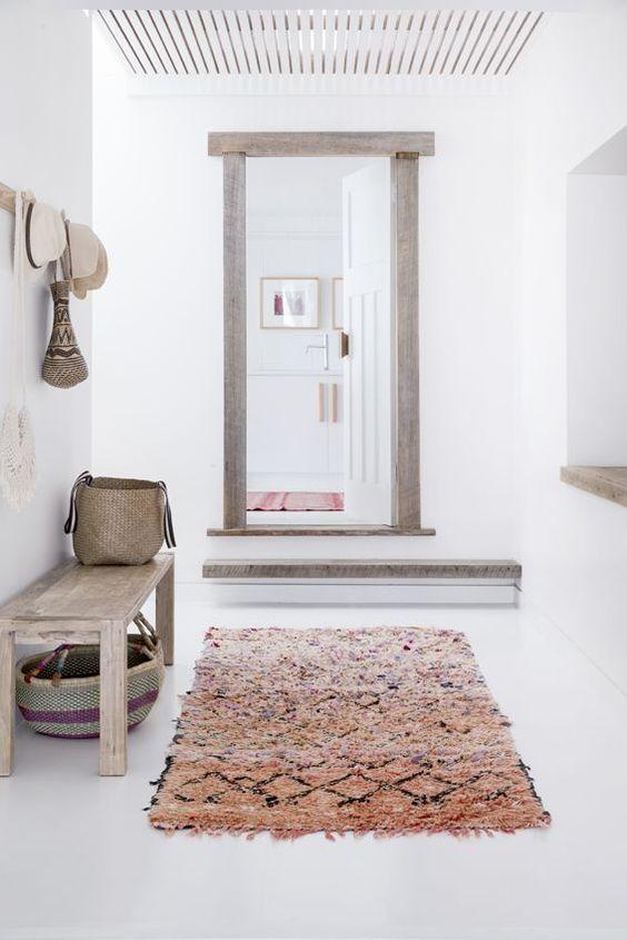 entrance hall with rug