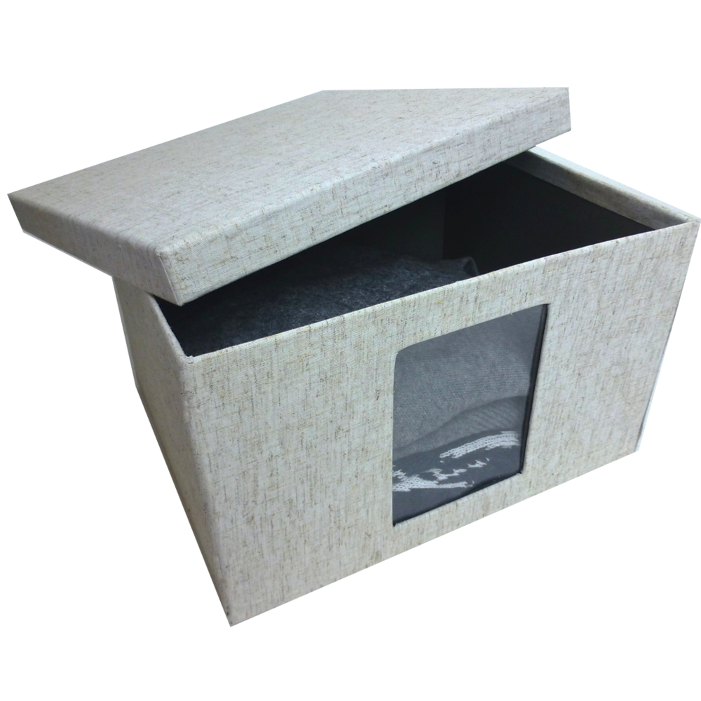 storage boxes fabric linen