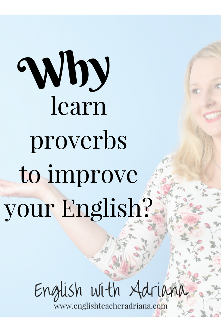 learn English proverbs for english fluency