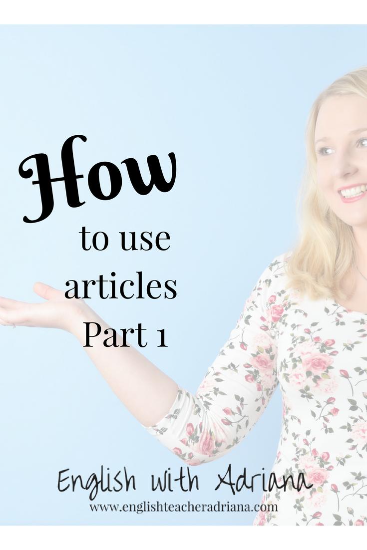 articles, english grammar, learn english grammar,
