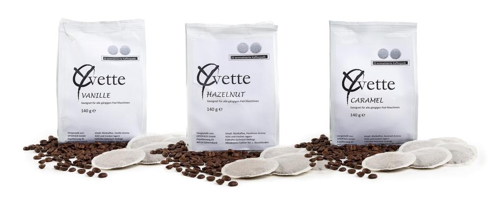 Yvette Kaffee, Aroma-Pads