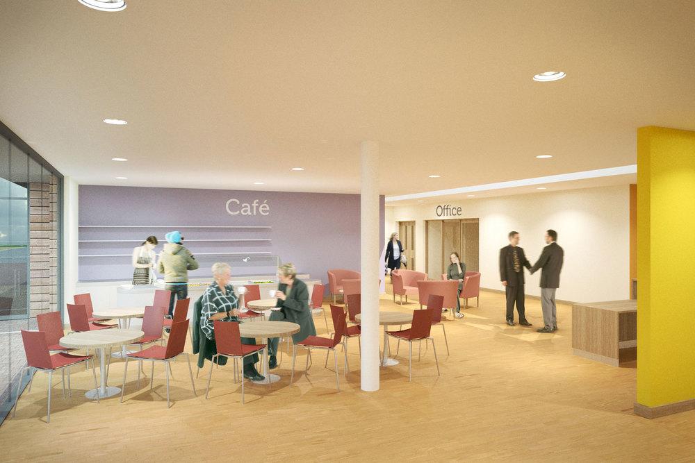 Café + Welcome Area
