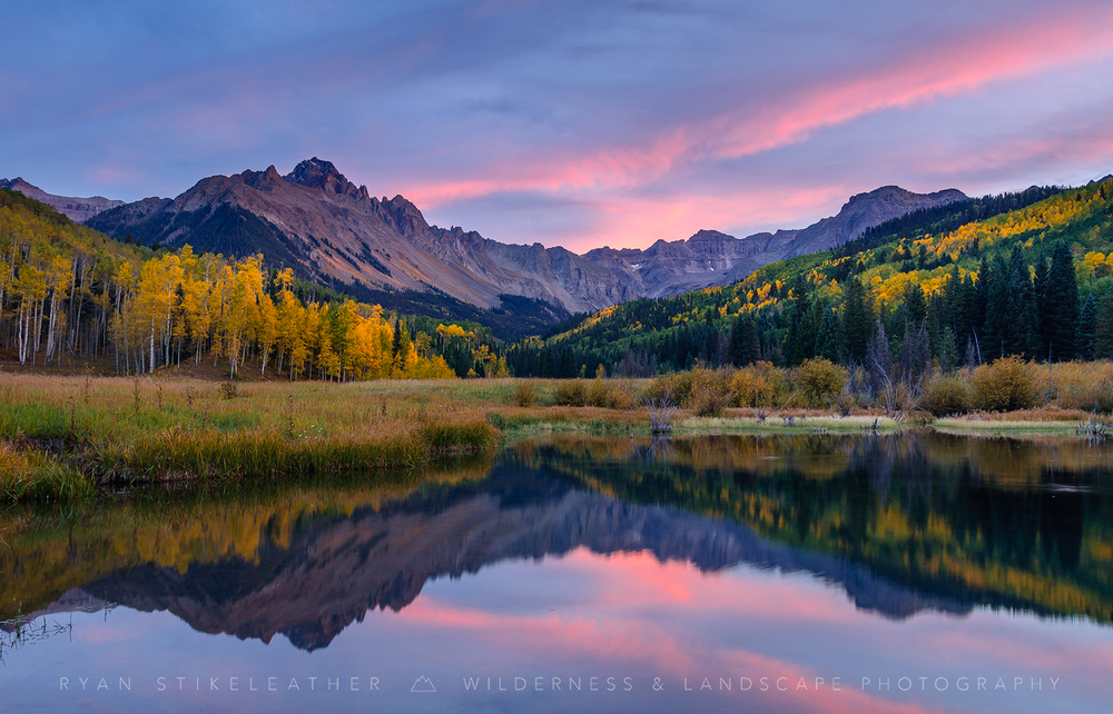 Mount Sneffels in Autumn Colors