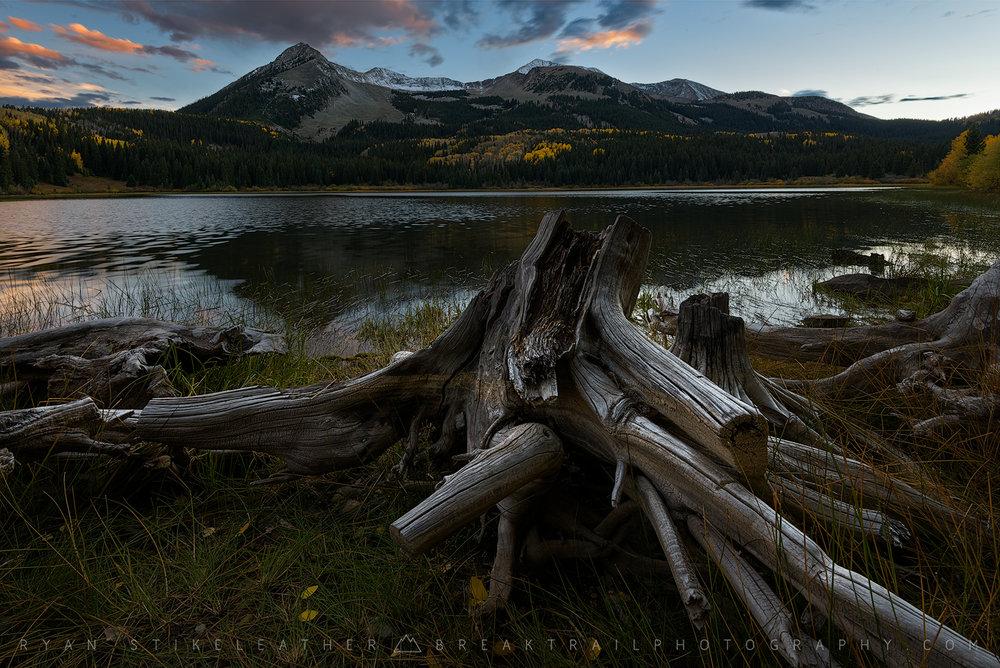Lost Lake at Sunset
