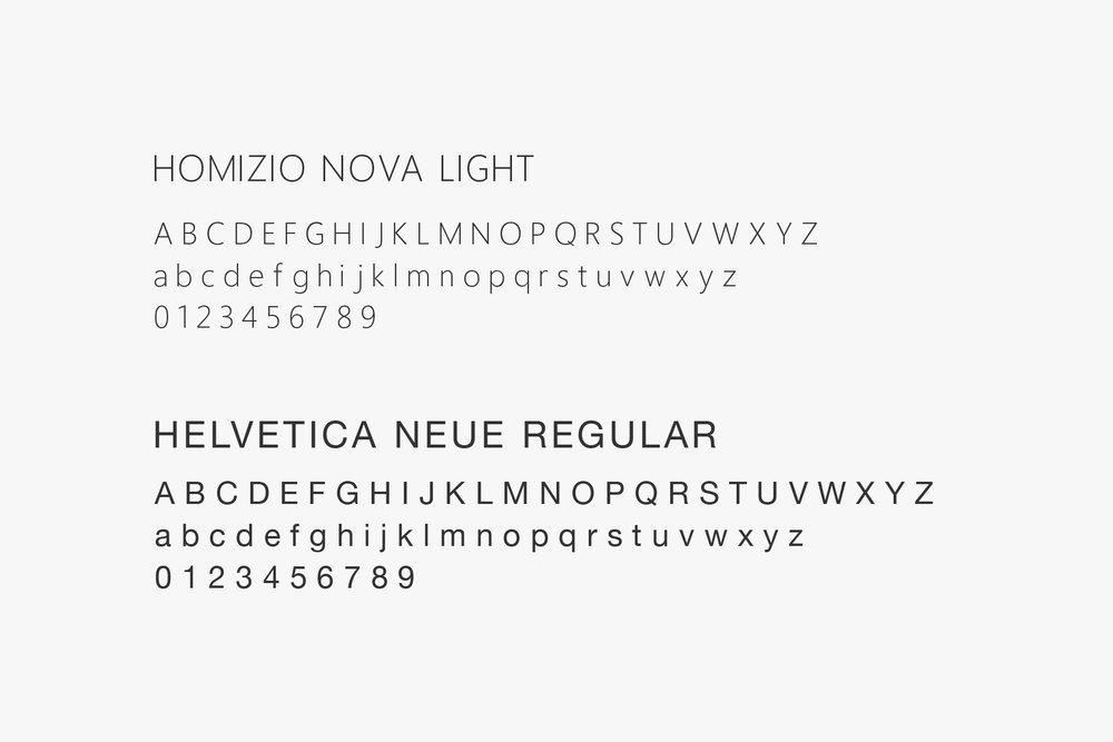Flowing Elements Yoga Typography