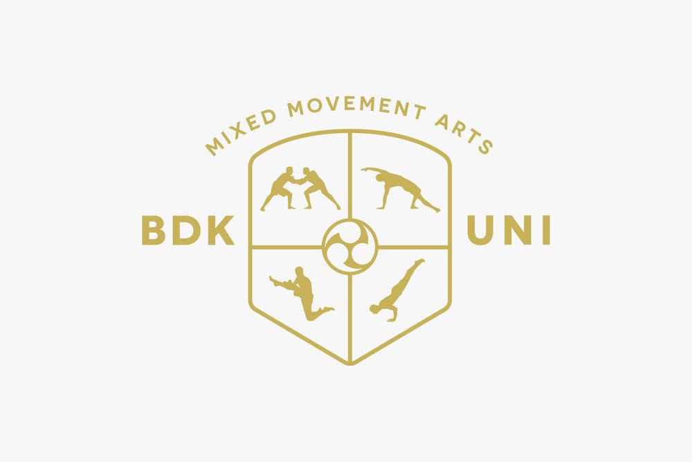 Budokon University Logo Shield